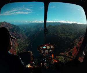 helicopter tour HI